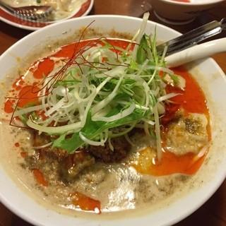 広州市場 大塚店 - 〆は担々麺