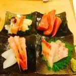 都寿司 - 刺し盛り