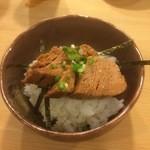 都寿司 - マグロの煮付けご飯