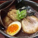麺処 田ぶし - 本家田ぶしらーめん¥790