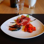 ソラティオ イタリアーノ - 前菜3種