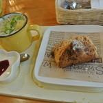 スワンズ カフェ ミント ブルー -