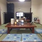 ひまわり - 【2015年12月】店内(座敷)の雰囲気。