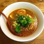 まるたん - 酸辣担々麺煮玉子