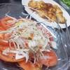 六 - 料理写真:トマトスライスとホソ