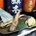 魚蔵 ねむろ - 厚岸産 氷下魚焼き