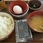 すき家 1国緑区境松店 - たまごかけごはん朝食