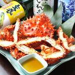 魚蔵 ねむろ - 東京では珍しい 花咲蟹