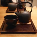 神楽坂 茶寮 - お茶と和スイーツのセット