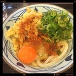 丸亀製麺 - 釜玉並(`_´)ゞ