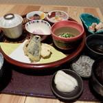 ちどり - 料理写真:ランチCちどり御膳¥1000(限定10食)