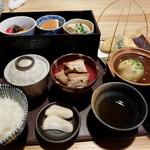 ちどり - ランチD鶏と豆富料理御膳 ¥1500