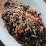 イタリアンレストラン&バー BARDI - イカスミを練りこんだパスタは絶品