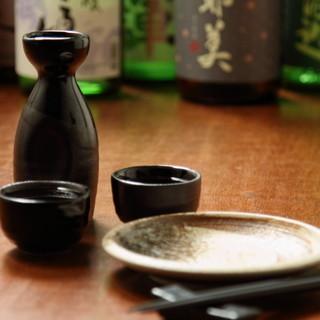 群馬の地酒と日本各地の日本酒をご用意