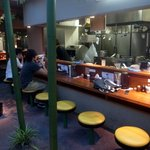 麺処 井の庄 - 「麺処 井の庄」のカウンター