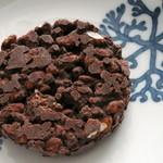 ショウダイ ビオ ナチュール - ポンブリックショコラ。チョコレートがしっかり絡んでいてどっしりとしています。もちろんおいしいです!