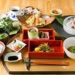 日本料理 椿 - 料理写真:ランチ限定の看板メニュー『椿スタイル』