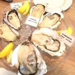 ビストロ カキヤ - 生牡蠣の3種盛り