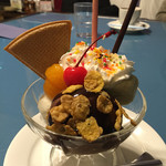 セーブル - チョコとバナナのミニパフェ
