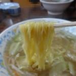 とんかつ太郎 - 麺です