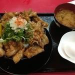 にんにく豚丼 京都・西浦 -