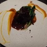 クッカーニャ - ◆牛ホホ肉のワイン煮込みを用意してくださったようです。