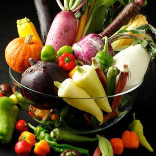 旬の食材、季節を感じるイタリアン