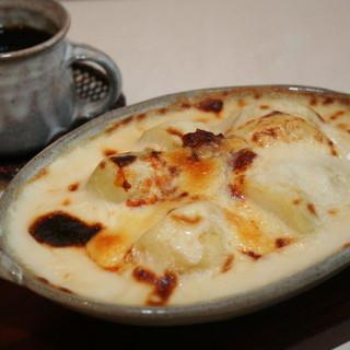 ボンズホーム - 料理写真:栗じゃが芋のグラタン