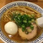 47766239 - しょうゆらーめん味玉トッピング(細麺)