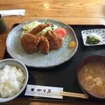 47766763 - ミックスフライ定食\980税込(2016/02)