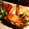 阿波尾鶏の皮パリオーブン焼き