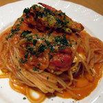 リストランテ ベニーノ - 渡り蟹のトマトクリームソース
