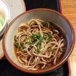 奥京 - 「奥京ランチプレート」の蕎麦
