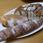 杜のパン屋 - 料理写真:合計890円【2016/02訪問】