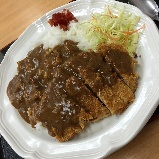 ときわ食堂 - カツカレーライス(810円)2016年2月