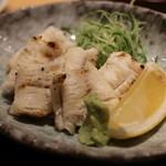 鮨処 銀座福助 - アナゴの白焼き