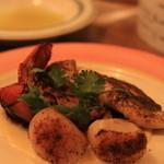 リガット - 魚介のソテー ケイジャンソース