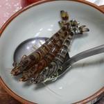 ふる里 - ちゃんこ鍋の具:生きてる海老