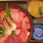 47784501 - 海鮮丼、大盛り‼️