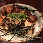 てげてげ - 焼き鳥丼 2016.02再訪