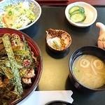 鰻作 - うなぎまぶし丼(3,800円)