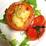 居酒屋てのひら - 丸ごとトマトのオーブン焼き