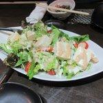 関 - 豆腐サラダ2016.02.22