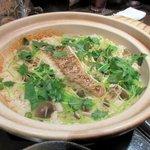 関 - 鯛と木ノ子の土鍋ご飯2016.02.22