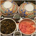 47794655 - 食べ放題の高菜と明太子