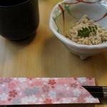 八沢川 - 箸袋にも季節の装い