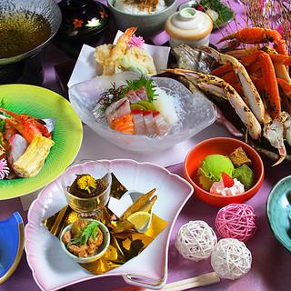 地産地消!旬の岡山県産食材を堪能★瀬戸内の魚介やお肉料理も