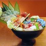 糸島創季房 月の樹 - 刺し盛り(2人前)
