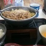 吉野家 - 牛すき鍋膳630円