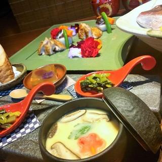 各種ご宴会にもおすすめのコース料理!